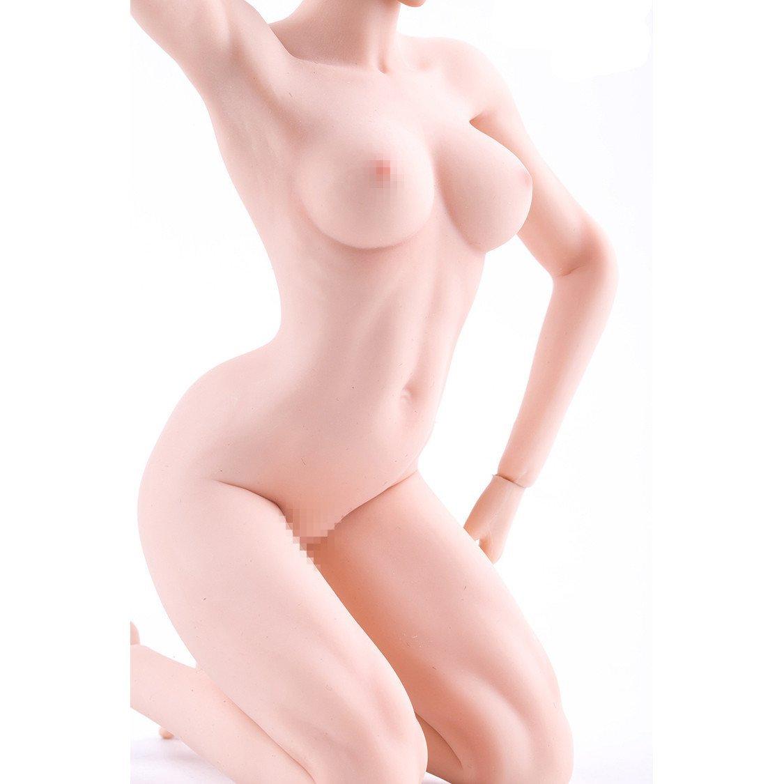 1/6スケール 超柔軟性 シームレス 女性素体 ボディービルダータイプ_画像1