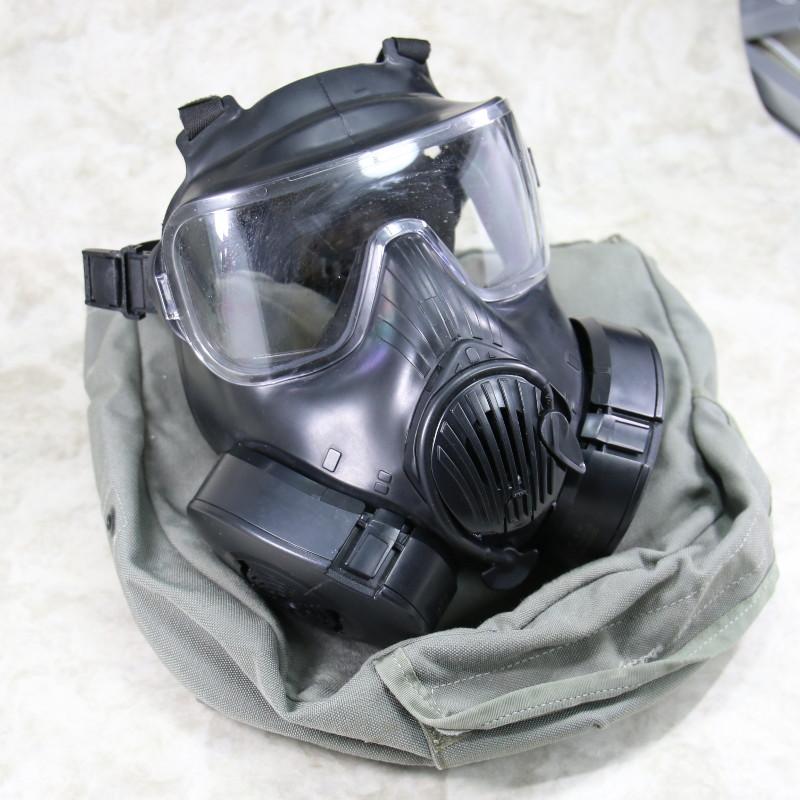 【米軍実物】M50ガスマスク サイズ:L〈軍放出品〉