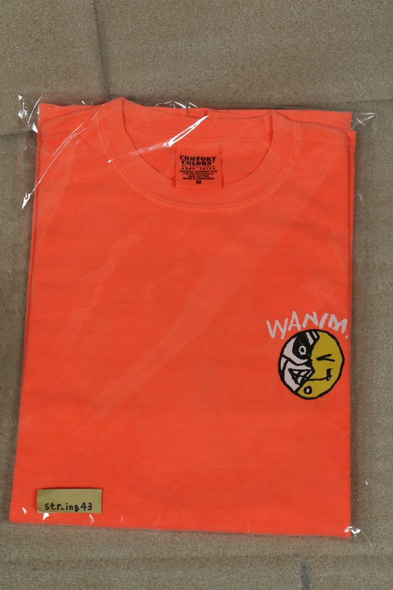 新品 WANIMA Tシャツ Mサイズ 蛍光オレンジ グッズ