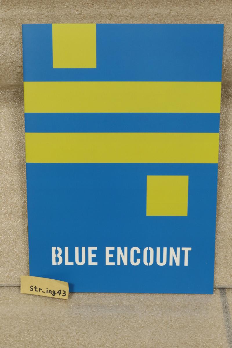 未使用 BLUE ENCOUNT TOWER RECORDS限定 ≒ ニアリーイコール 先着購入特典 ノート グッズ