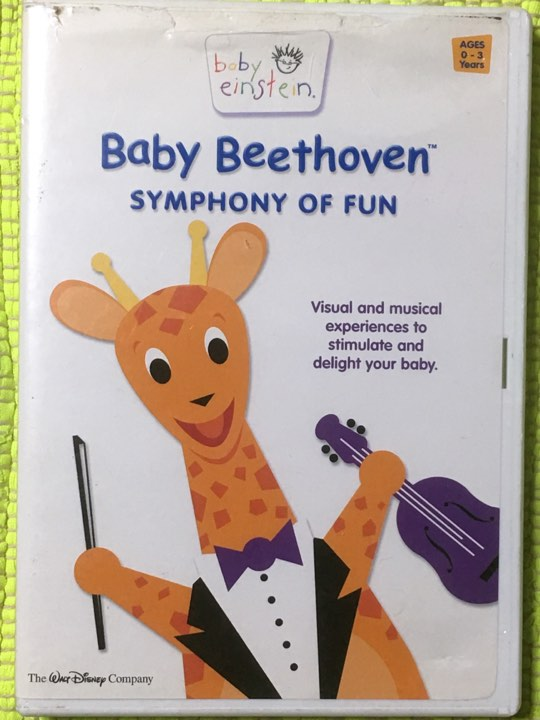 アメリカ製の赤ちゃん向けbaby einstein英語版DVD・Baby Beethoven♪_画像1
