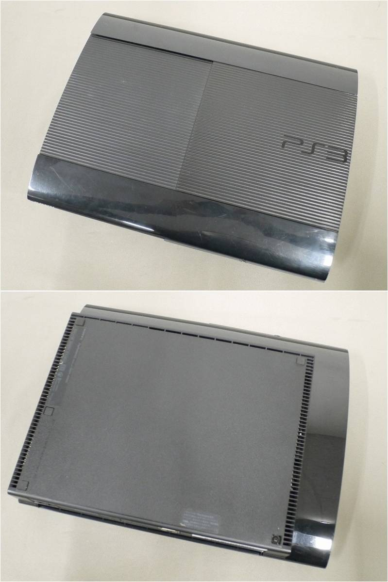 1円~★SONY PS3 (500GB) CECH-4000C 本体 動確済 オマケ付(ジャンクソフト10本)A 4560_画像4