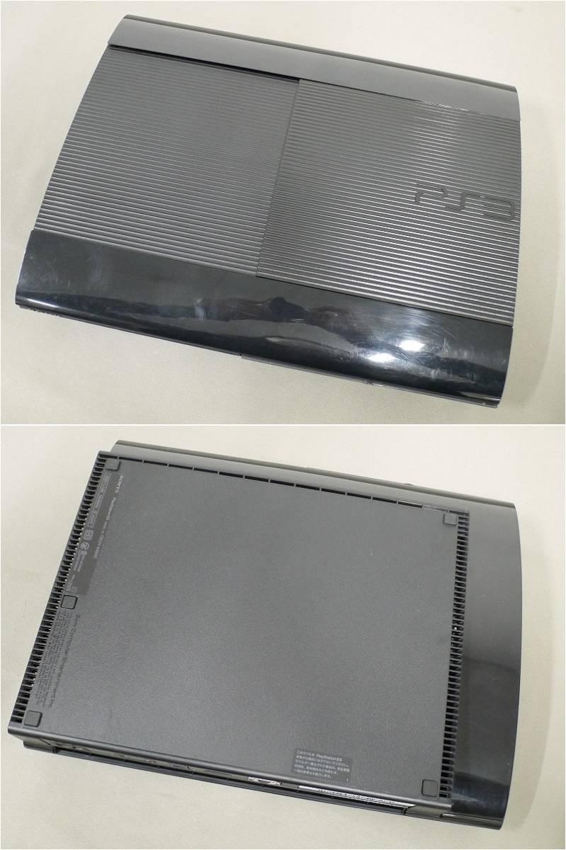 1円~★SONY PS3 (500GB) CECH-4300C 本体 動確済 オマケ付(ジャンクソフト10本)C 4562_画像4