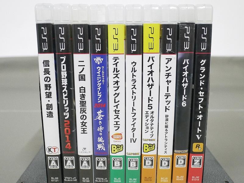 1円~★SONY PS3 (500GB) CECH-4000C 本体 動確済 オマケ付(ジャンクソフト10本)A 4560_画像2