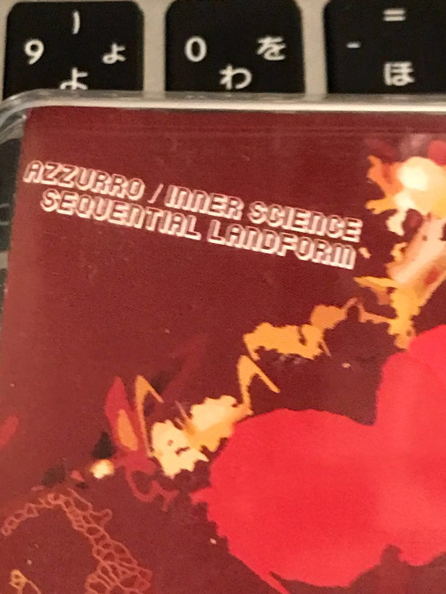 CD付 MIXTAPE DJ AZZURRO INNER SCIENCE SEQUENTIAL LAND FORM KIYO KOCO クボタタケシ 須永辰緒 鈴木雅尭 MURO_画像2