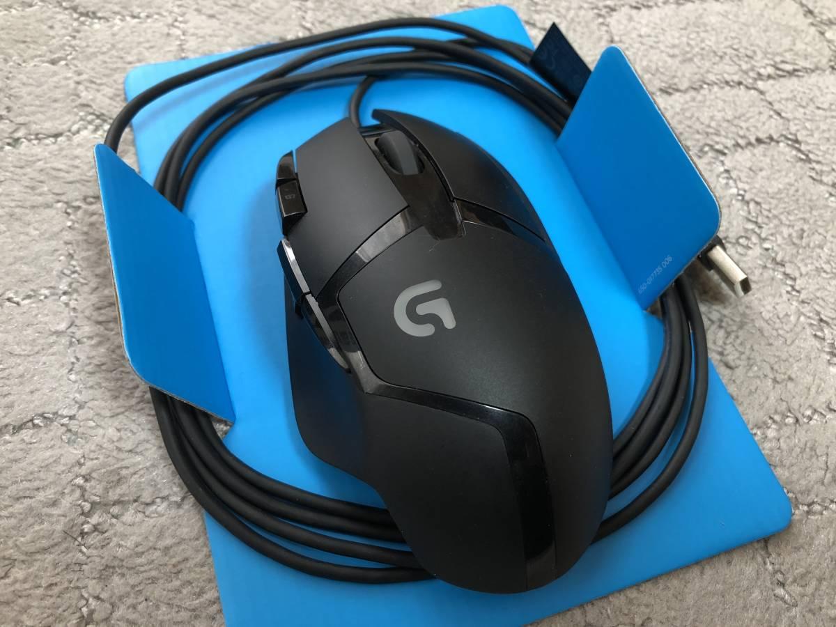 ゲーミングに最適なG402 イルミも青です