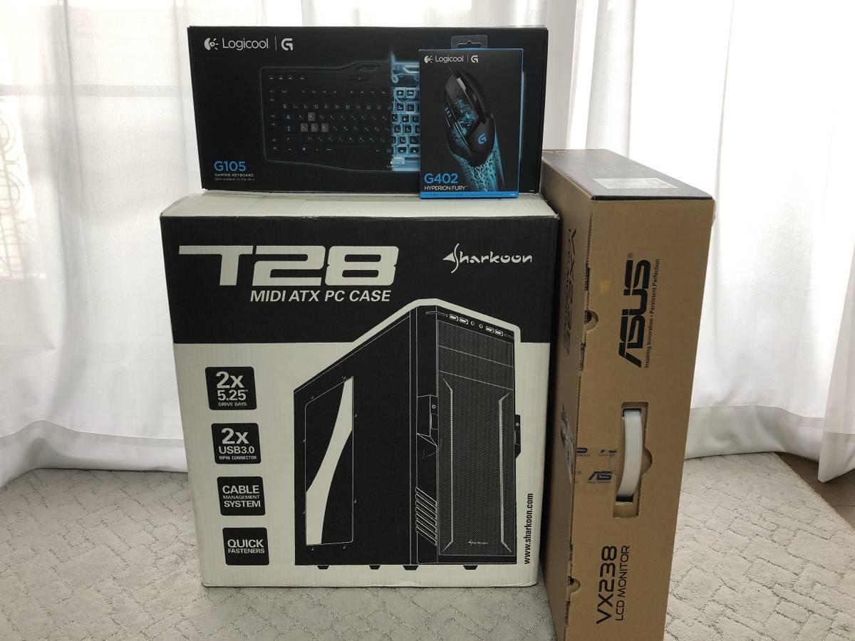 自作PC ゲーミング キーボード・マウス・モニター セット GTX960 GAMING4G_画像10