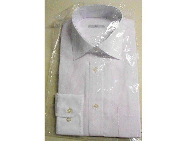 ■SUIT SELECT■クレリックシャツ 長袖 ■ 41-84 M ピンクストライプ 形態安定_画像4