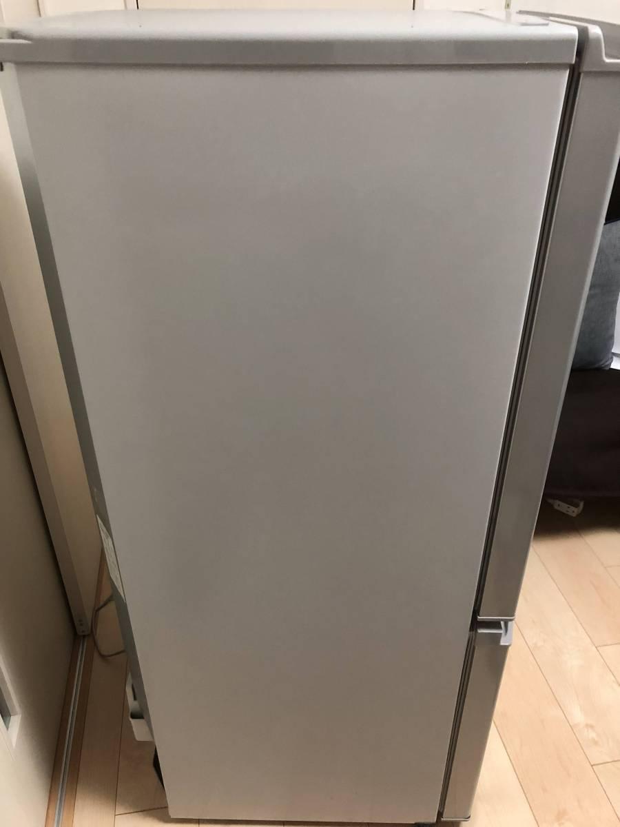 三菱 ノンフロン冷凍冷蔵庫 MR-P15Z-S シルバー 2ドア 146L ☆2016年製 【美品】_画像2
