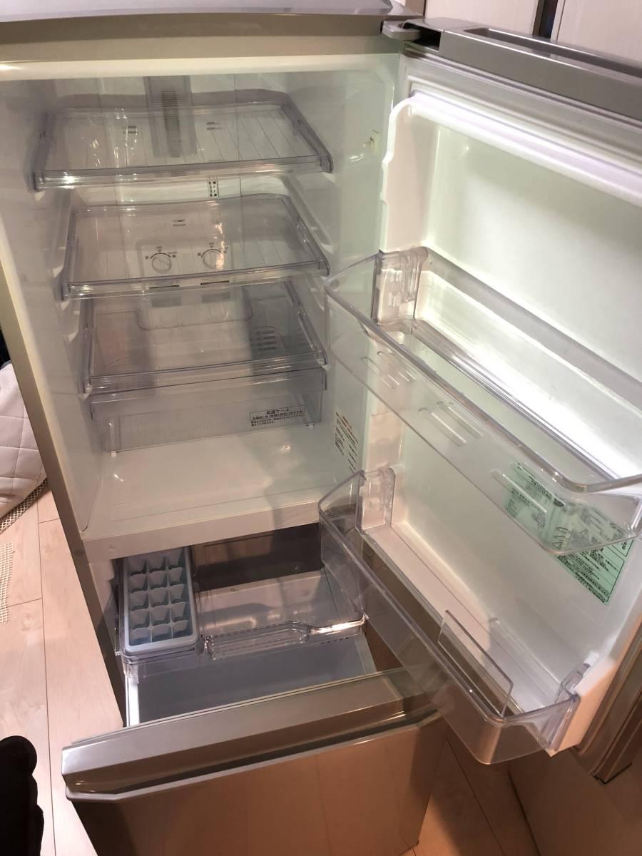 三菱 ノンフロン冷凍冷蔵庫 MR-P15Z-S シルバー 2ドア 146L ☆2016年製 【美品】_画像6
