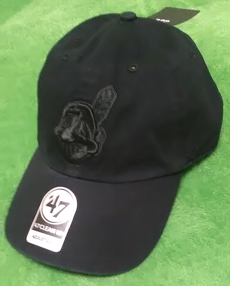79d9a429916 reduced cleveland indians new era mlb retro classic 59fifty cap 9064c  abb64  aliexpress new goods 47 brandmlb indian s hat cap f all black mlb  official ...