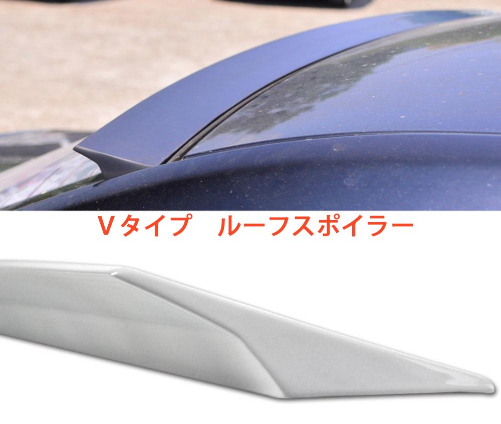 NEW Vタイプ NISSAN シルフィ 3代 B17型 リアルーフスポイラー 塗装付_画像2