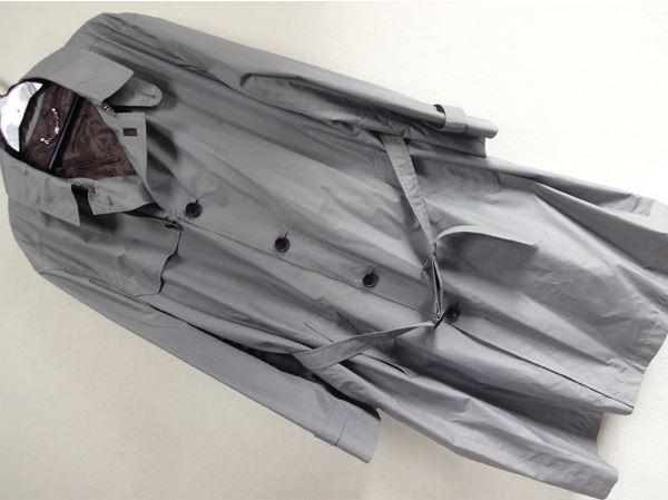 美品 ルイヴィトン グレンチェック  サイズ54  ベルト付きコート