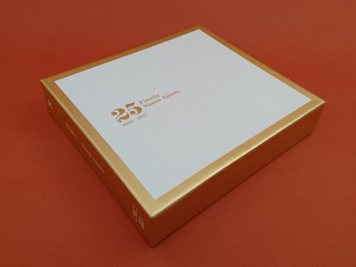 安室奈美恵  Finally  3CD (初回BOXスリーブ仕様)