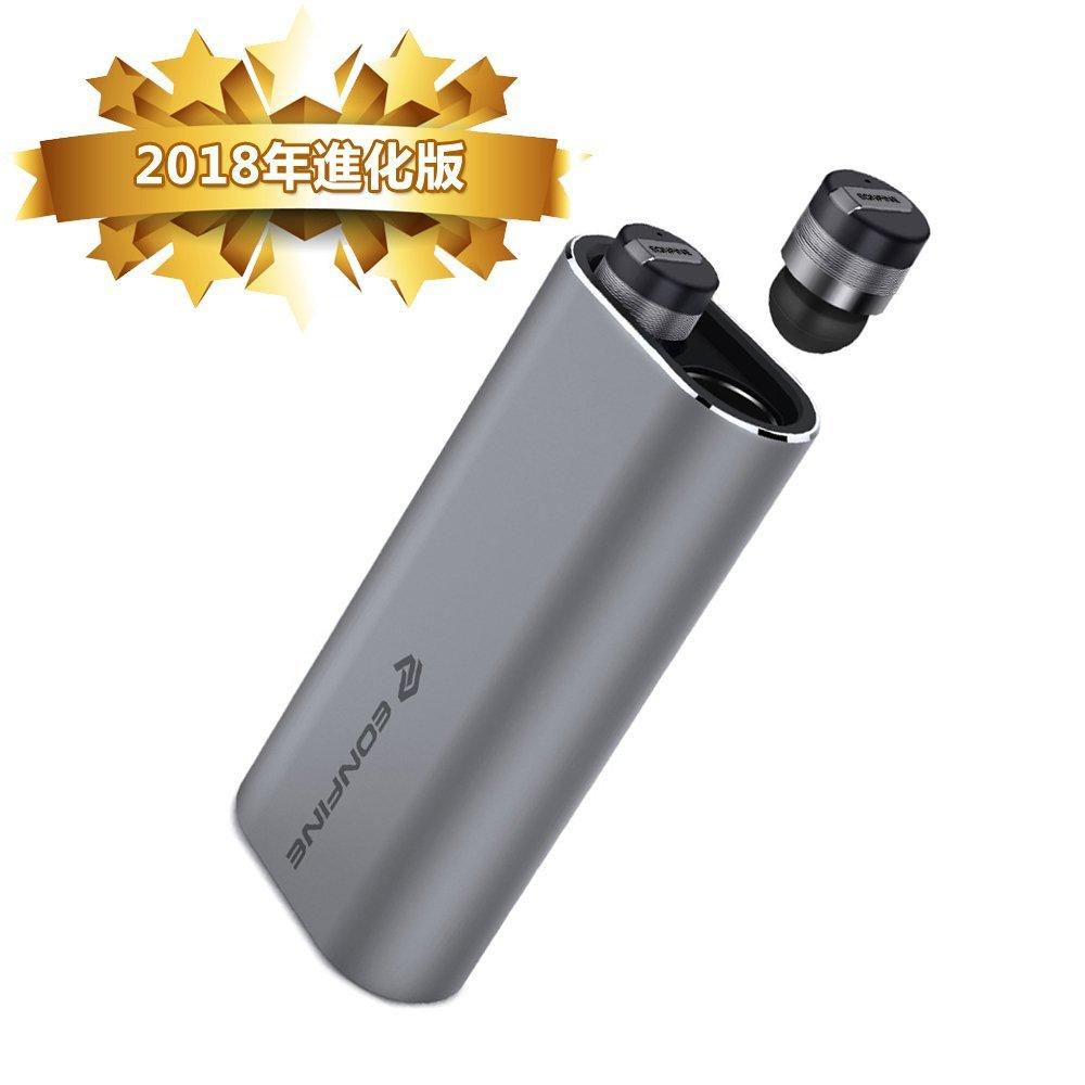 1円〜【進化版 】Bluetooth イヤホン完全ワイヤレス 左右分離型 高音質 充電用モバイルバッテリー付き 超小型 超軽量 日本語説明 M28