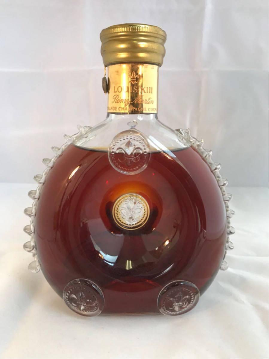 1円スタート!★古酒 ブランデー REMY MARTIN レミーマルタン ルイ13世 バカラ