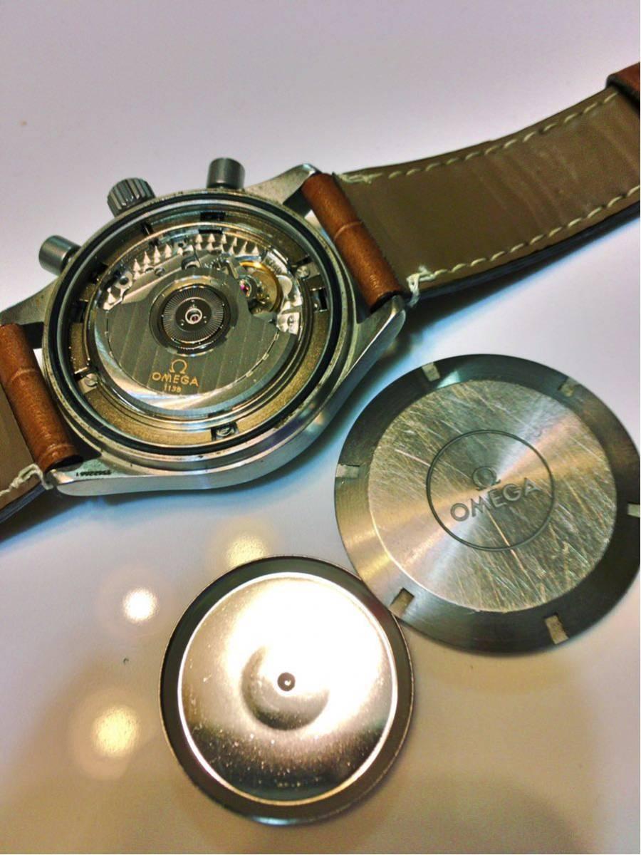 【OMEGA】ダイナミック クロノグラフ Ref.5240.50 自動巻 機械式 オメガ腕時計_画像3