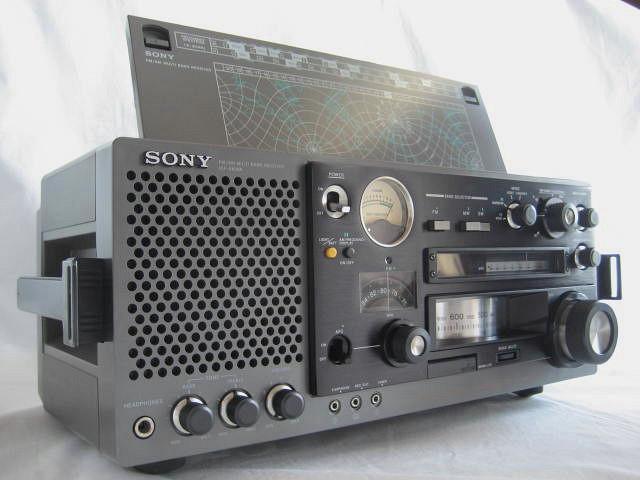 BCL 極上品 完全動作調整済品 SONY ソニー ICF-6800A 高感度 高性能 1kHz直読デジタルカウンター 昭和トランジスタラジオ 世界のソニー_画像4