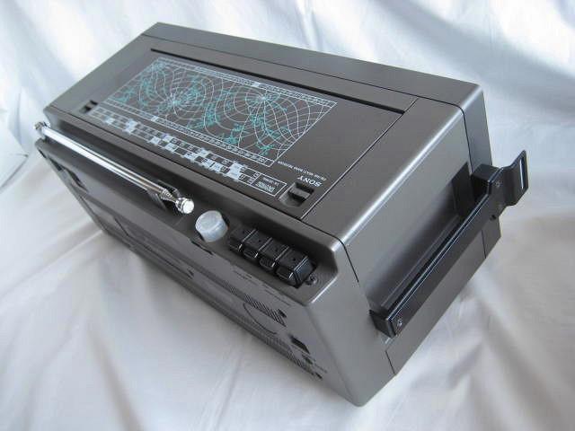BCL 極上品 完全動作調整済品 SONY ソニー ICF-6800A 高感度 高性能 1kHz直読デジタルカウンター 昭和トランジスタラジオ 世界のソニー_画像9