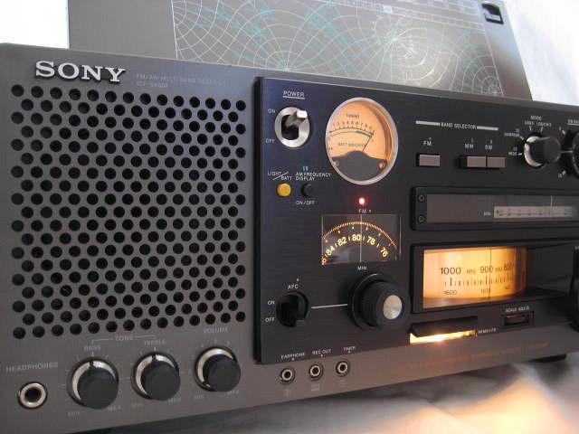BCL 極上品 完全動作調整済品 SONY ソニー ICF-6800A 高感度 高性能 1kHz直読デジタルカウンター 昭和トランジスタラジオ 世界のソニー_画像2