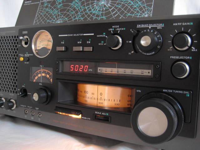 BCL 極上品 完全動作調整済品 SONY ソニー ICF-6800A 高感度 高性能 1kHz直読デジタルカウンター 昭和トランジスタラジオ 世界のソニー_画像3
