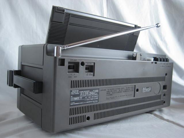 BCL 極上品 完全動作調整済品 SONY ソニー ICF-6800A 高感度 高性能 1kHz直読デジタルカウンター 昭和トランジスタラジオ 世界のソニー_画像5