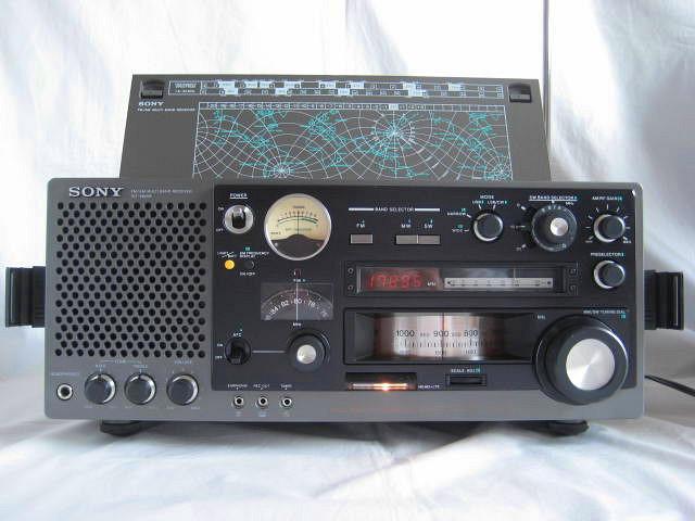 BCL 極上品 完全動作調整済品 SONY ソニー ICF-6800A 高感度 高性能 1kHz直読デジタルカウンター 昭和トランジスタラジオ 世界のソニー