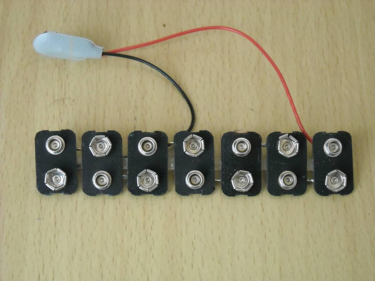 アクリルケースに組み込んだ、自作5球電池管ラジオ(高周波増幅付)_画像10