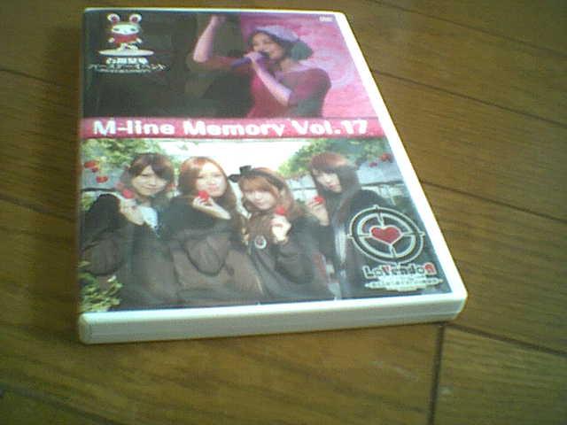 M-line Memory Vol.17 DVD2枚組 石川梨華 LoVendoЯ 田中れいな