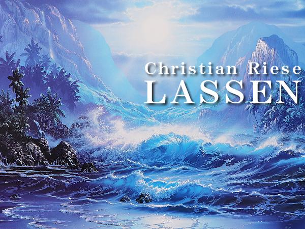 クリスチャン・ラッセン 巨大版画 真作保証 ハワイ マウイ 海 波 夜景 月夜 星空 クジラ イルカ 月 満月 星 大自然 砂浜 浜辺 風景 絵画