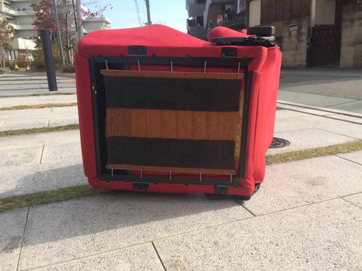 RECARO レカロ セミバケットシート 赤 レッド_画像3