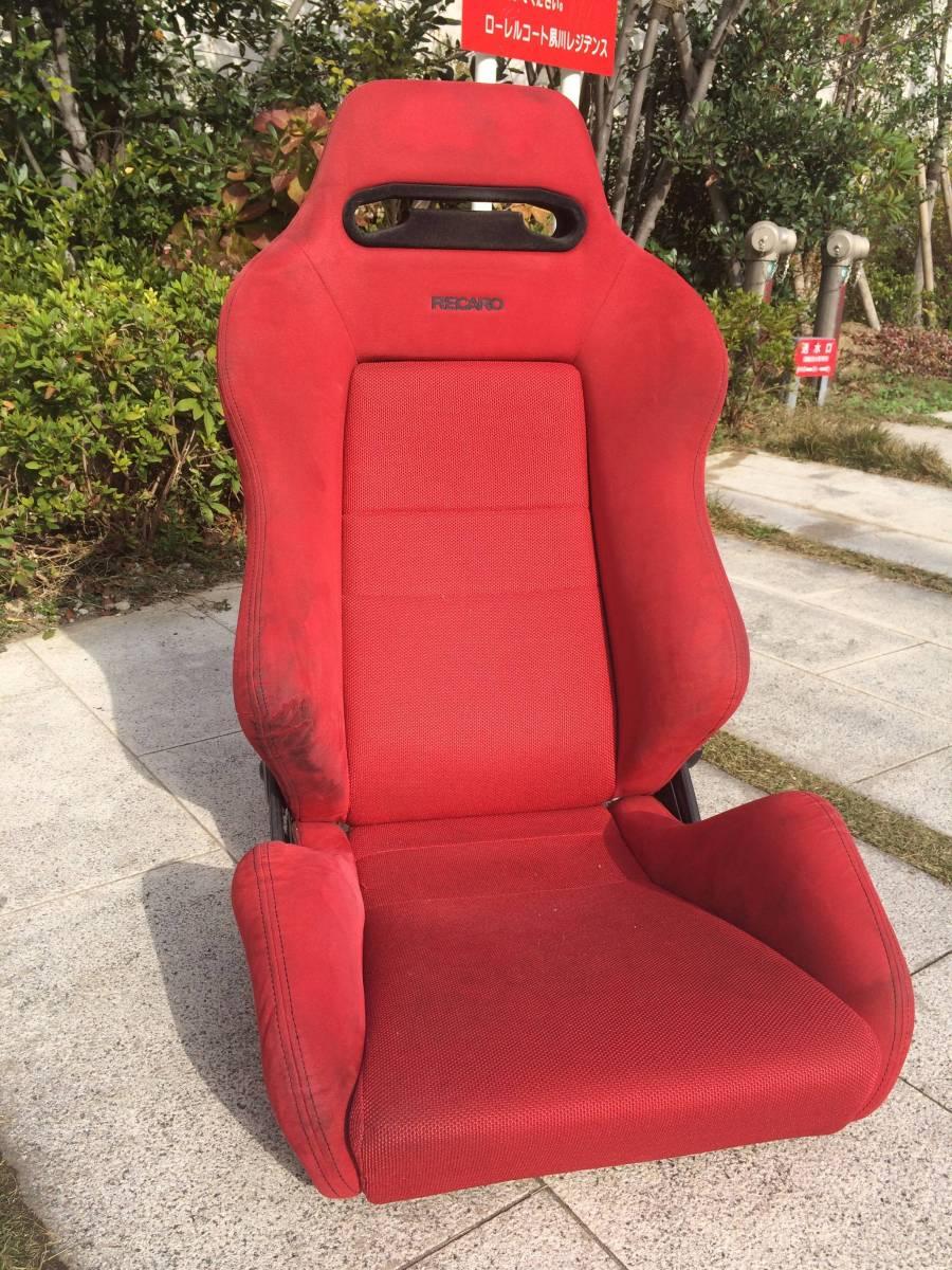 RECARO レカロ セミバケットシート 赤 レッド