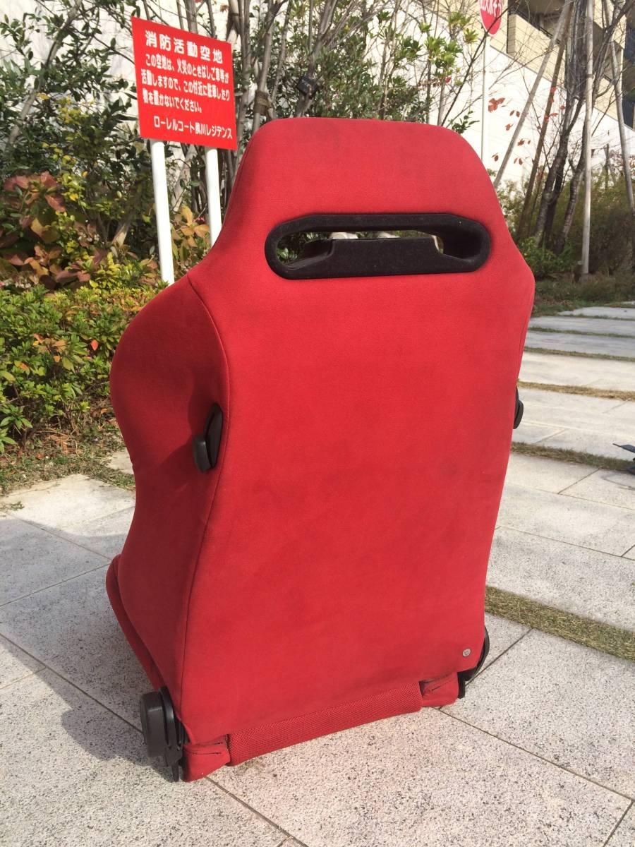 RECARO レカロ セミバケットシート 赤 レッド_画像2