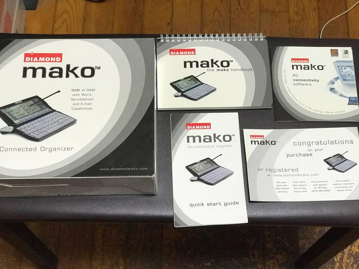 【 Psion Revo Plus OEM 】 DIAMOND mako 箱・付属品付き 【ジャンク】_画像10