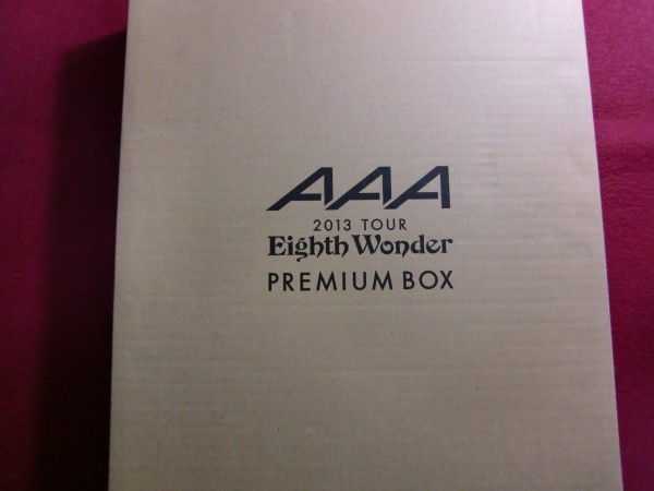 56/AAA 2013TOUR Eighth Wonder PREMIUM BOX/付録付き