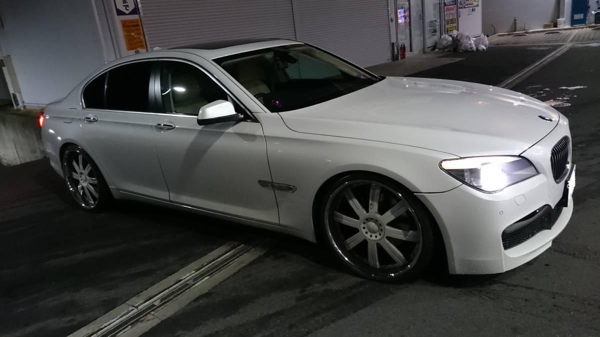 決まり物のBMW 売り切ります BMW F01 740i アニバーサリー限定車 正規ディーラー 実走