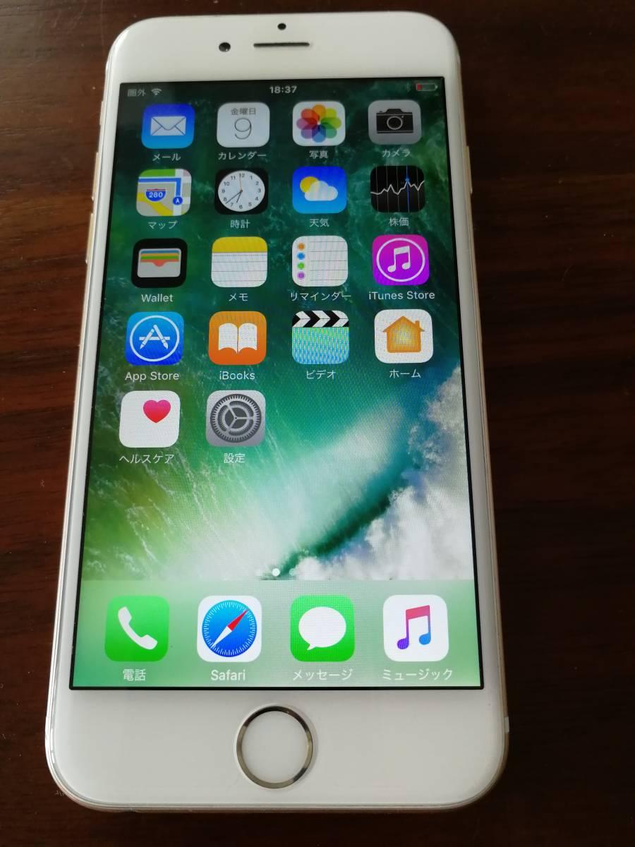 中古品 iPhone6 ゴールド 64GB 【国内版 SIMフリー 一括購入品】