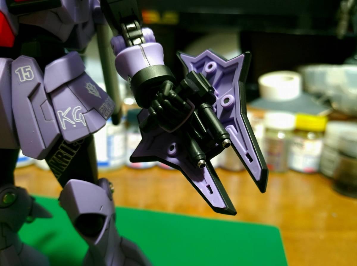関節メッキ調塗装、銃口にメタルパイプ追加