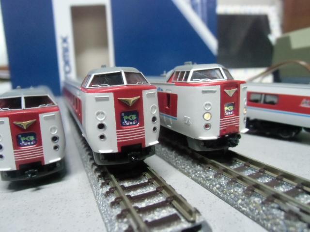 381系特急やくも増結編成 TOMIX塗替改造品
