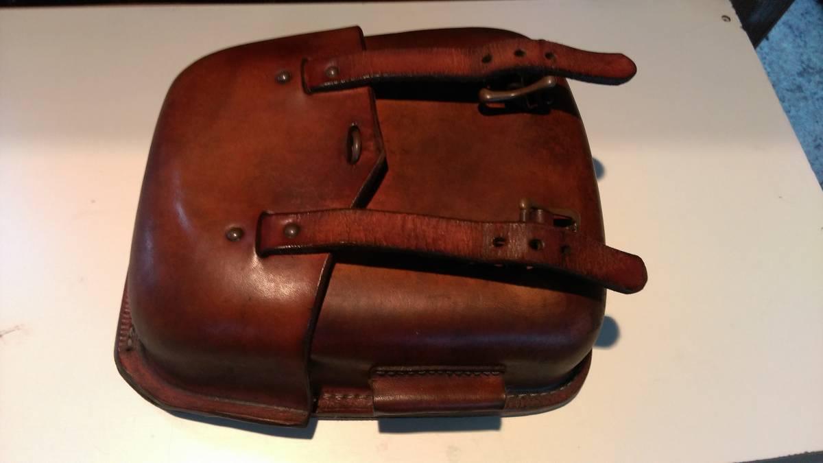 本革ビンテージサイドバッグ
