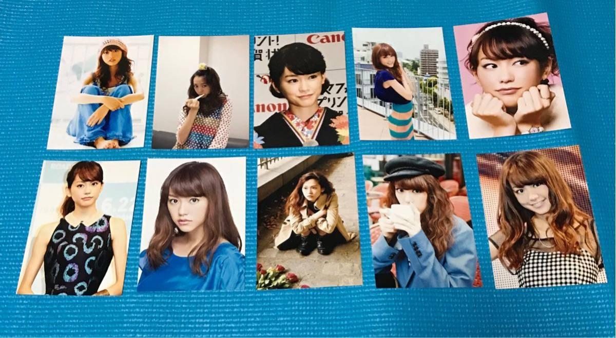 桐谷美玲 L版 10枚 写真