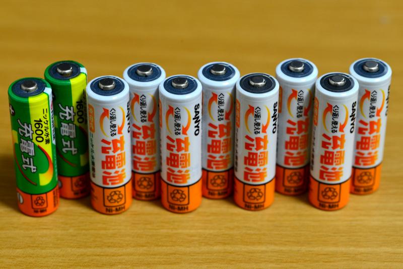 ☆単3 ニッケル水素 充電池 10本組 ジャンク品☆