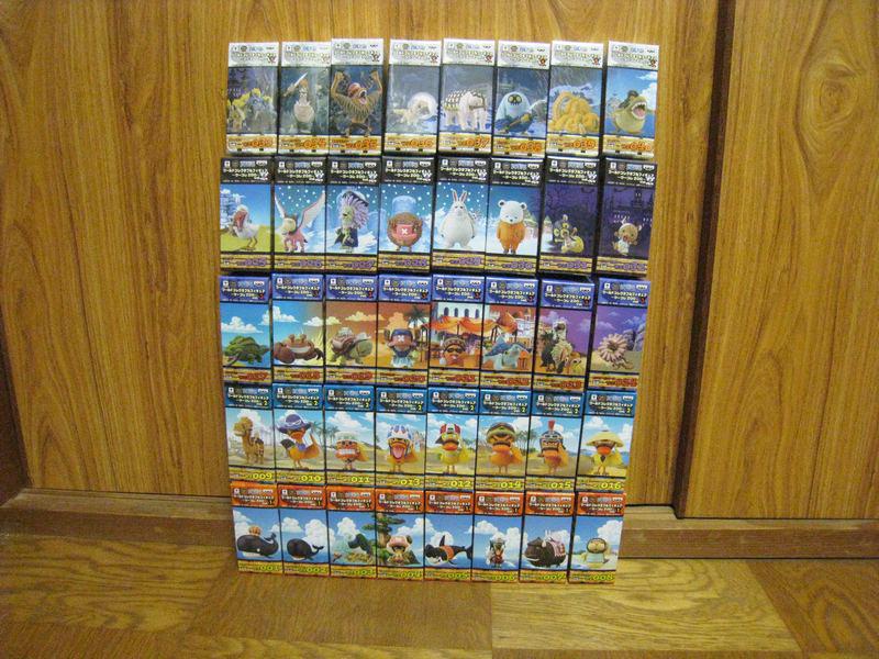 【新品未開封】ワンピース ワールドコレクタブルフィギュア GIGA MEGA含む 508体 まとめ売り+オマケ_画像5