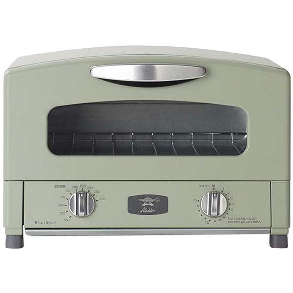 ★未使用 アラジン グラファイトトースター 2017 CAT-GS13A アラジングリーン トースター ★