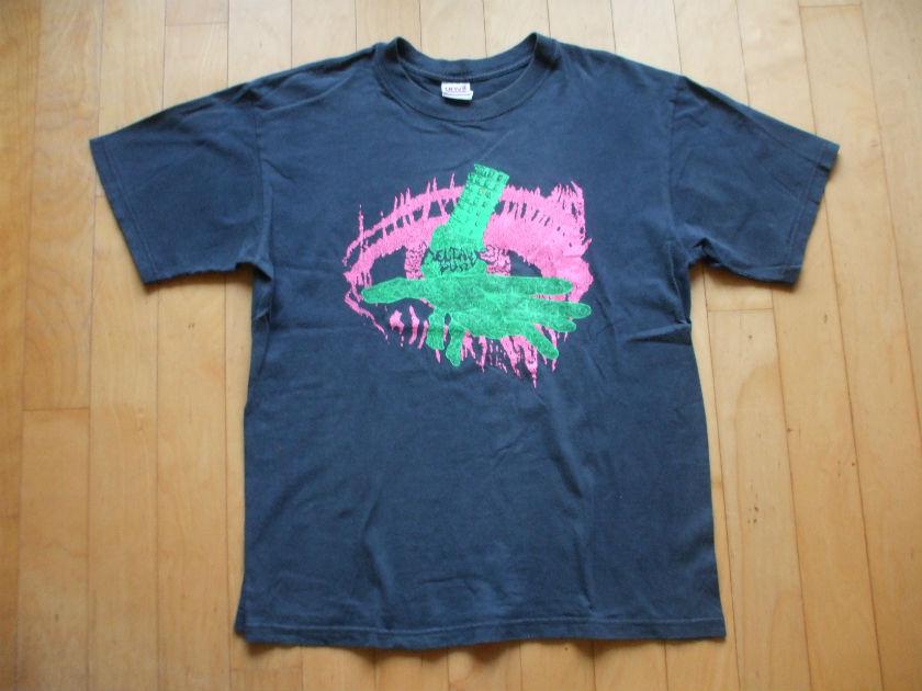 90's DELTA PUREE Tシャツ lip cream s.o.b outo
