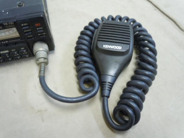 !○アマチュア無線機 KENWOOD TR-751D ケンウッド 144MHz オールモード トランシーバー 日本製_画像4