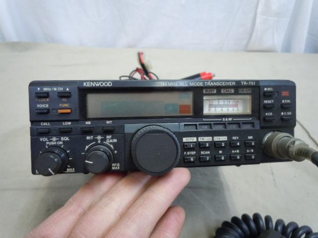 !○アマチュア無線機 KENWOOD TR-751D ケンウッド 144MHz オールモード トランシーバー 日本製_画像3
