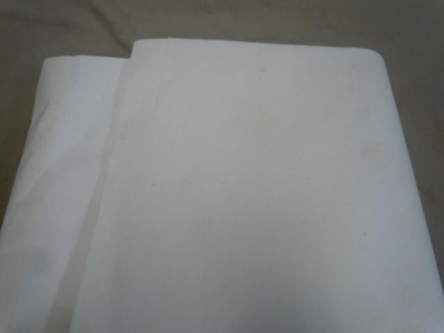 □高級純手漉和紙 精華堂 特撰 山實 8尺 聯落 書道 半紙 画仙紙 五十枚仕立_画像7
