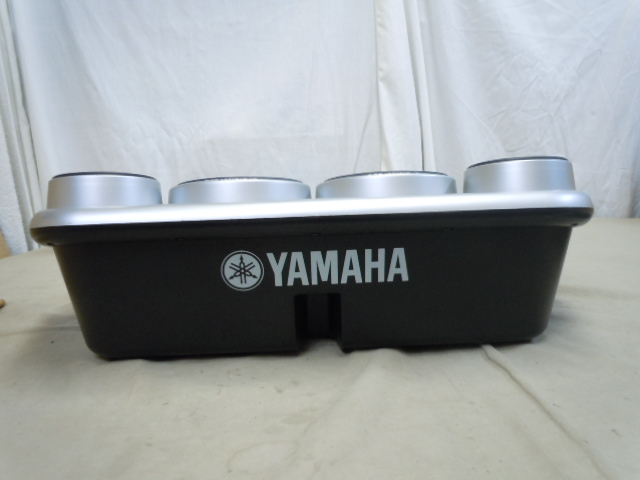 ☆YAMAHA DD-55 デジタルパーカッション ヤマハ STEREO SAMPLED DRUM 電子ドラム MIDI オリジナルの電源アダプター付き スティックおまけ_画像7