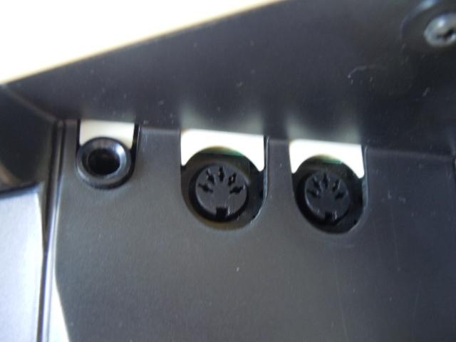 ☆YAMAHA DD-55 デジタルパーカッション ヤマハ STEREO SAMPLED DRUM 電子ドラム MIDI オリジナルの電源アダプター付き スティックおまけ_画像6